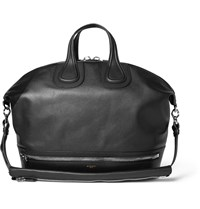 Givenchy Nightingale Full Grain Leather Holdall Black