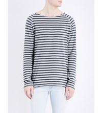 Nudie Jeans Otto Cotton Jersey Top Midnight