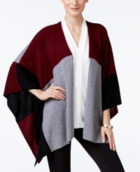 Charter Club Cashmere Colorblocked Wrap Cardigan Only At Macy's Crantini