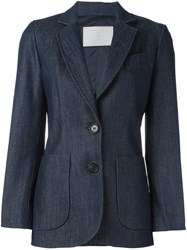 Societe Anonyme Two Button Jacket Blue