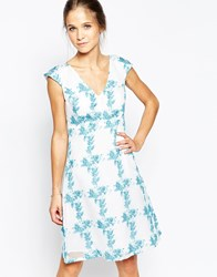 Traffic People Dreaming Of Days Swoon Dress Blue