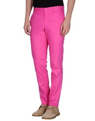 E. Tautz Trousers Casual Trousers Men Fuchsia