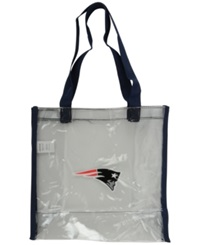 Forever Collectibles New England Patriots Clear Tote Bag