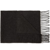 Norse Projects Sigurd Scarf Charcoal Melange
