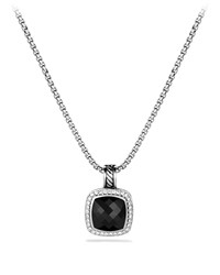 Albion Pendant With Black Onyx And Diamonds David Yurman