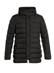 Herno Polar Tech Quilted Down Jacket Black