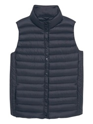 Violeta By Mango Quilted Gilet Black