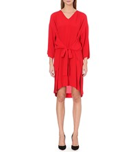 Anglomania Hope Crepe Dress Red