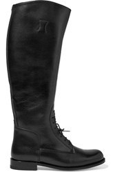 Ariat Palencia Lace Up Leather Riding Boots Black
