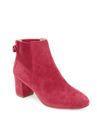 Kate Spade Lorene Suede Booties Light Ruby