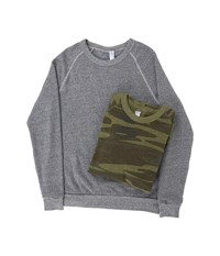 Alternative Apparel Champ Squared Bundle Eco Grey Men's Clothing Gray