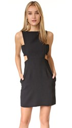 Jill Stuart Cutout Dress Black