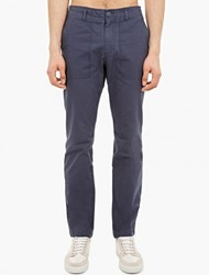 Saturdays Surf Nyc Navy Cotton Fatigue Trousers