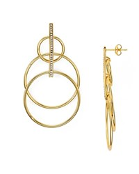 Jules Smith Designs Layered Hoop Earrings Gold