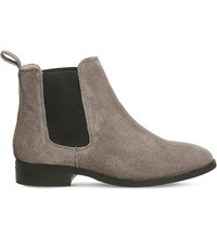 Office Bramble Suede Chelsea Boots Dark Grey Suede