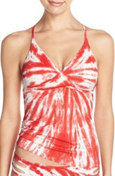 Women's Lucky Brand 'Fireworks' Tankini Top