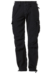 Japan Rags Phmirado Cargo Trousers Noir Black