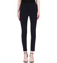 Reiss Skinny Crepe Trousers Night Sky