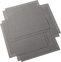 Cb2 Set Of Eight Basketweave Shale Placemats