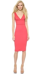 Dsquared Sleeveless Jersey Dress Coral