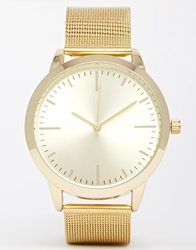 Aldo Asalima Mesh Strap Watch Multi