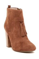 French Connection Linds Tassel Bootie Brown