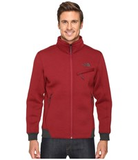 The North Face Thermal 3D Jacket Biking Red Black Heather Men's Coat