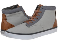 Radii Basic Grey Charcoal Ostrich Men's Shoes Gray