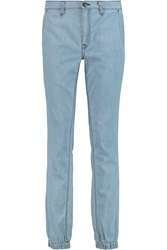 Vince Mid Rise Tapered Jeans