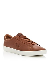Fred Perry Spencer Lace Up Sneakers Tan