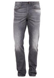 United Colors Of Benetton Straight Leg Jeans Grey Denim