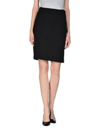 Cambio Skirts Knee Length Skirts Women Black