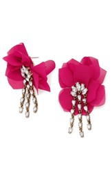 Baublebar Women's 'Amaryllis' Floral Drop Earrings Pink