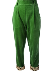 Labour Of Love Corduroy Peg Trouser Green