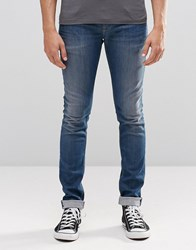 Pepe Jeans Finsbury Skinny Z07 Mid Wash Mid Wash Blue