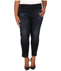 Kut From The Kloth Plus Size Crop Skinny Jeans In Refresh Refresh Women's Jeans Blue