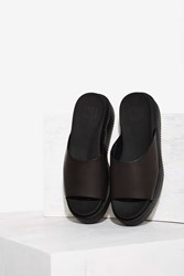 T.U.K. Slide And Seek Leather Flatform