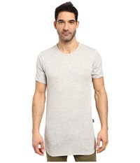 Rustic Dime Heather French Terry Long Tee Heather Grey Men's T Shirt Gray