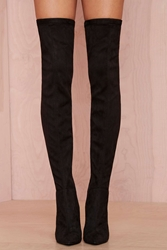 Nasty Gal Jeffrey Campbell Superfreak Leather Thigh High Boot