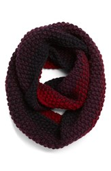 Women's Eugenia Kim 'Dakota' Knit Infinity Scarf Burgundy Burgudy Navy