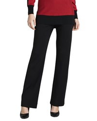 Joan Vass Ponte Boot Cut Pants