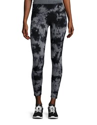 Calvin Klein Tie Dye Stretch Leggings Grey