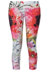 Desigual Dama Tights Blanco Multicoloured