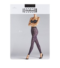 Wolford Jes Patterned Leggings Female Black