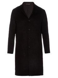 Acne Studios Charlie Wool And Cashmere Blend Overcoat Black