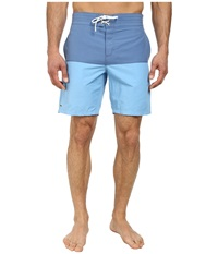 Lacoste Poplin Color Block Swim Short 8 Admiral Blue Naval Blue Men's Swimwear