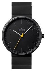 Men's Braun Ceramic Bracelet Watch 38Mm Black