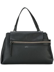 Hogan Zipped Large Tote Black