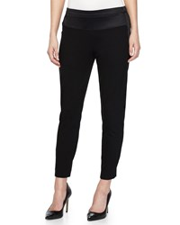 Halston Heritage Tapered Sweatpants Black Women's Size 12