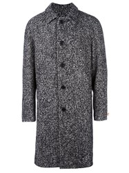 Msgm Single Breasted Coat Black